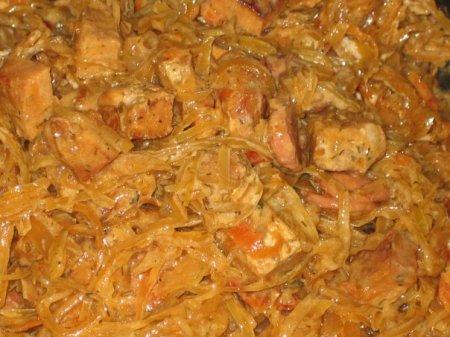 Рецепт свинина с квашеной капустой