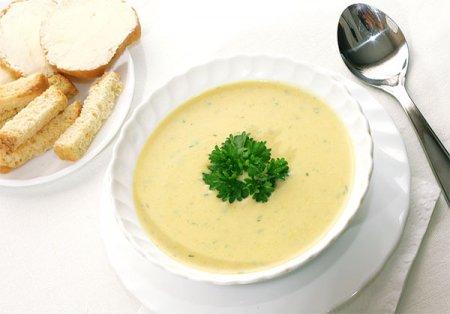 Рецепт суп-пюре из капусты
